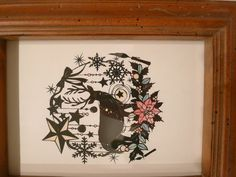 This is a cutout picture. This is a work of Shinobu OHASHI.