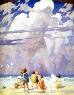 "N. C. Wyeth, ""Giant"""