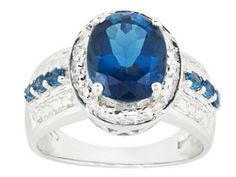 Barehipani Topaz 3.44ctw Oval And Round Sterling Silver Ring I have this, its sooooo pretty :)
