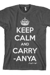 7b7a3169a6 Keep Calm and Carry-Anya (Heather Charcoal) T-Shirt - Joey Graceffa  T-Shirts - Online Store on District Lines