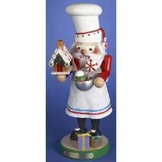 PINNACLE PEAK Steinbach SIGNED Santa Gingerbread Baker German Christmas Nutcracker at Sears.com