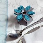 Gift boxes - turquoise and silver