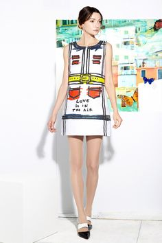 Alice + Olivia | Resort 2015 Collection | Style.com - Why not do that at home? (DIY)