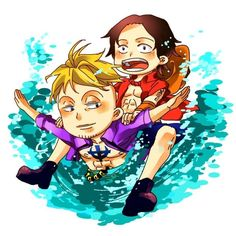 Portgas D. Ace and Marco #one piece