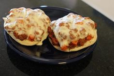 Grandma's Pizza Burgers (made with Spam)