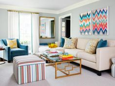 HGTV Magazine takes you inside a home with style that is a little refined and a little relaxed.