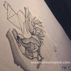 Resultado de imagem para geometric rooster