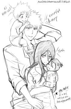 This better happen! Tite Kubo, I'm looking at you! Rukia looks fabulous in long hair.