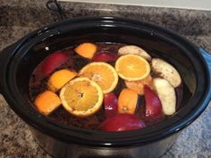 "Crock Pot Fall Scented ""potpourri"""