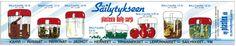 Bally-purkkien vanha mainos! Old advertisement for Bally-jars. Made in Finland.