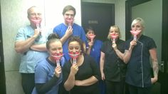 All the team at Temple Dental Practice, Leeds. #NSM14