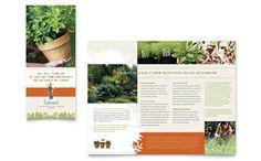 Landscape & Garden Store - Brochure Template