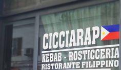 """Cicciarap in filippino significa """"cibo buono"""". http://www.ditestaedigola.com/cicciarap-ristorante-filippino/"""