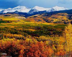 colorado mountians | Wallpaper, photos, colorado, mountains, earthscapes, gallery, autumn ...