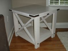 Ana White | T's Rustic X End Table - DIY Projects