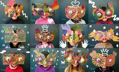 idées masques de Neusa Lopez