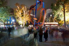 The Carnival of Light at Linnanmäki, on to of October, illuminates Helsinki's legendary amusement park on the closing week of the summer. Enjoy various entertainment. Carnival Lights, Visit Helsinki, Interesting History, Beautiful Buildings, Amusement Park, Capital City, Travel With Kids, Denmark, Summer Time