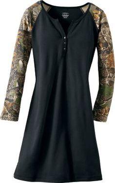 Cabela's Women's Camo Long-Sleeve Sleepshirt