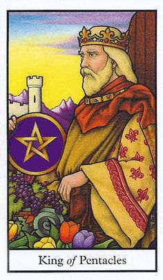 Free Daily Tarotscope -- Jun 13, 2015 -- King of Pentacles -- Today's Moon in Taurus may see you making plans for the future. You might be thinking about starting a business, feathering your nest egg, or looking for ways to establish security for you and your loved ones. (more)...