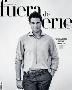 Rafael Nadal graces the cover of Spanish magazine Fuera de Serie.