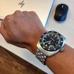 Omega Seamaster Diver, Vostok Watch, Wrist Watches, Amphibians, Seiko, Omega Watch, Accessories, Watches, Combat Boots