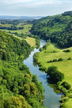 River Wye at Symonds Yat, Herefordshire,