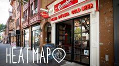 Brooklyn best restaurants map