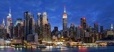 https://flic.kr/p/CoygZZ   New York City, Skyline, Empire State Building, Hudson River, New York, America