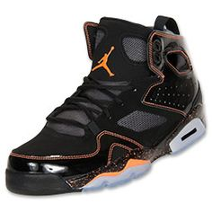 new product e81da f4e5d Men s Jordan Flight Club 91 Basketball Shoes   FinishLine.com    Black Bright Citrus