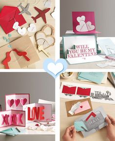 love in 3 dimensions -- cards by Martha