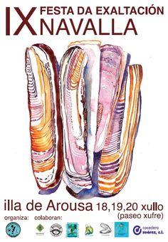 Festa da Exaltación da Navalla. Cartel 2014