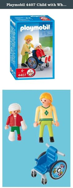Playmobil 4407 Child with Wheelchair. Comes with different casts.