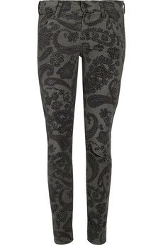 Citizens of Humanity Thompson mid-rise stretch-corduroy skinny jeans   THE OUTNET