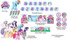 My+Little+Pony+Birthday+Party+Free+Printables