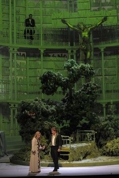 """Another set to which I say, """"Well, we can dream, can't we?"""" (Faust at Paris Opera- design by Johan Engels) Set Design Theatre, Stage Design, Children Of Eden, Theater, Stage Set, Scenic Design, The Villain, Installation Art, Art Direction"""