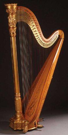 Harp Instrument Christmas 2019 Silver Ornament Choose Snowman Snowflake or Bulb