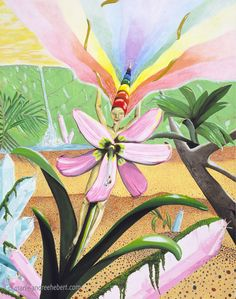 Symphonie de Joie - Acrylique sur toile  Artiste: Marie-Andrée Hébert