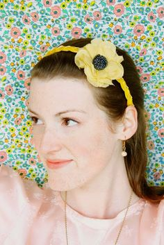 Braided Headband... too cute! #hair accessories #headband