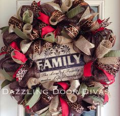 Hey, I found this really awesome Etsy listing at http://www.etsy.com/listing/169059095/family-christmas-deco-mesh-wreath-with