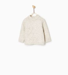 CABLE TEXTURE SWEATER-SWEATERS AND CARDIGANS-Baby boy-Baby | 3 months - 3 years-KIDS | ZARA United States