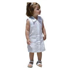 Sleeveless Guayabera Dress.