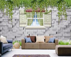 3D brick design wallpaper for household, View 3d wallpaper for walls, clful Product Details from Guangzhou Magic Color Digital Painting Ltd. on Alibaba.com