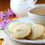 Whipped Shortbread Drop Cookies - Bunny's Warm Oven