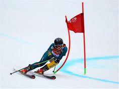 Sochi 2014 Day 12 - Alpine Skiing Women's Giant Slalom Greta Small of Australia makes a run during the Alpine Skiing Women's Giant Slalom