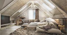 Virlova Interiorismo: [Projects] Un dormitorio, 2 soluciones 3D