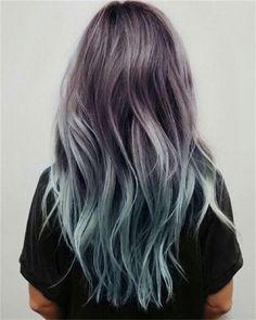 Capelli 2016: 8 colori di tendenza - Blue Grey