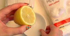 Εξαφανίστε τα μαύρα στίγματα με λεμόνι και ένα ακόμη συστατικό!!!