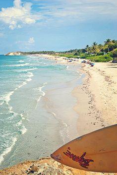 Playa Parguito Isla de Margarita, Venezuela
