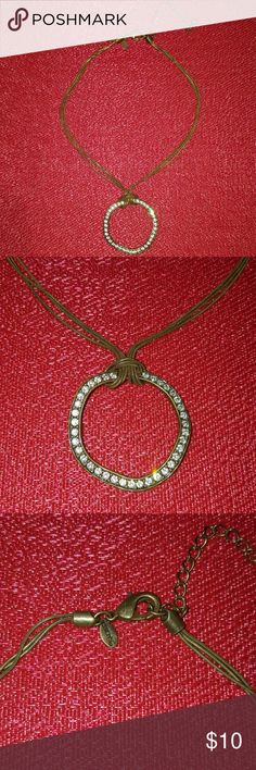 Chico's sparkle crystal necklace Necklace Chico's Jewelry Necklaces