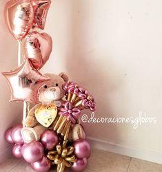 Balloon Columns, Balloon Arch, Balloon Garland, Balloon Flowers, Balloon Bouquet, Birthday Balloon Decorations, Birthday Balloons, Ideas Decoracion Cumpleaños, Deco Ballon